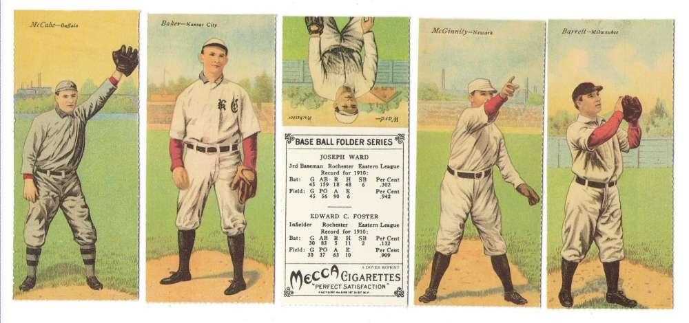 1911 Mecca Double Folders Reprints T201 - Minor Leaguers