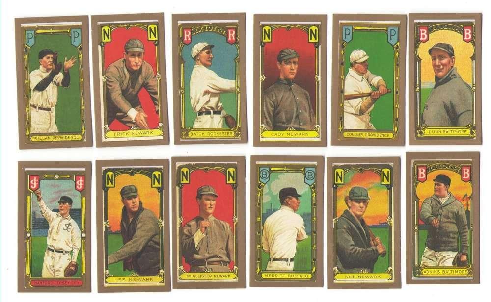 1911 T205 Reprints - MINOR LEAGUERS Team Set