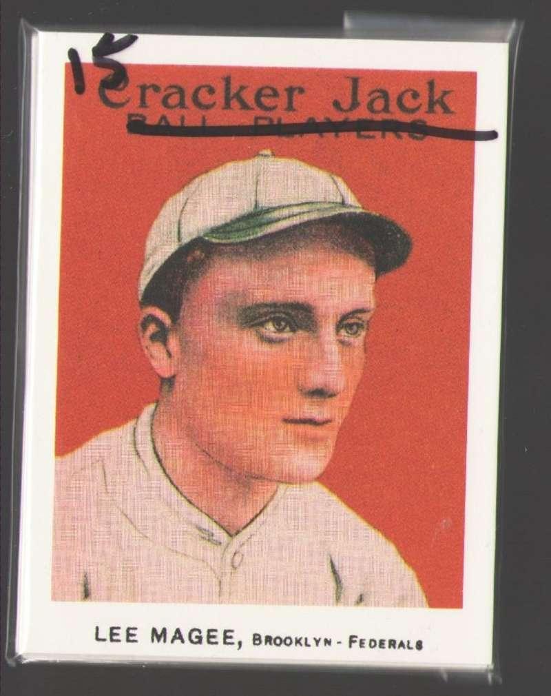 1915 Cracker Jack Reprints - Brooklyn Tip-Tops (Federal League) Team Set