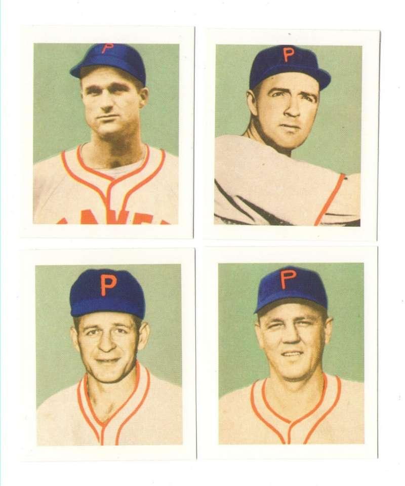 1949 Bowman PCL Reprints - Portland Beavers Team Set