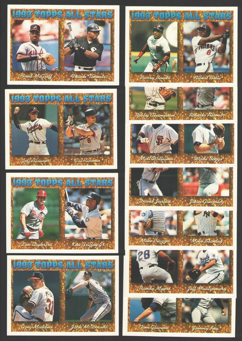 1994 Topps - All-Stars (11 card subset)