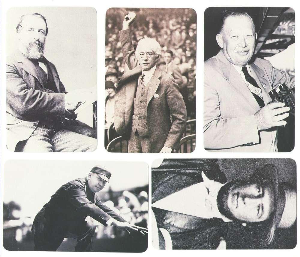 1995 Baseball Hall of Famers Creating History - NON Players