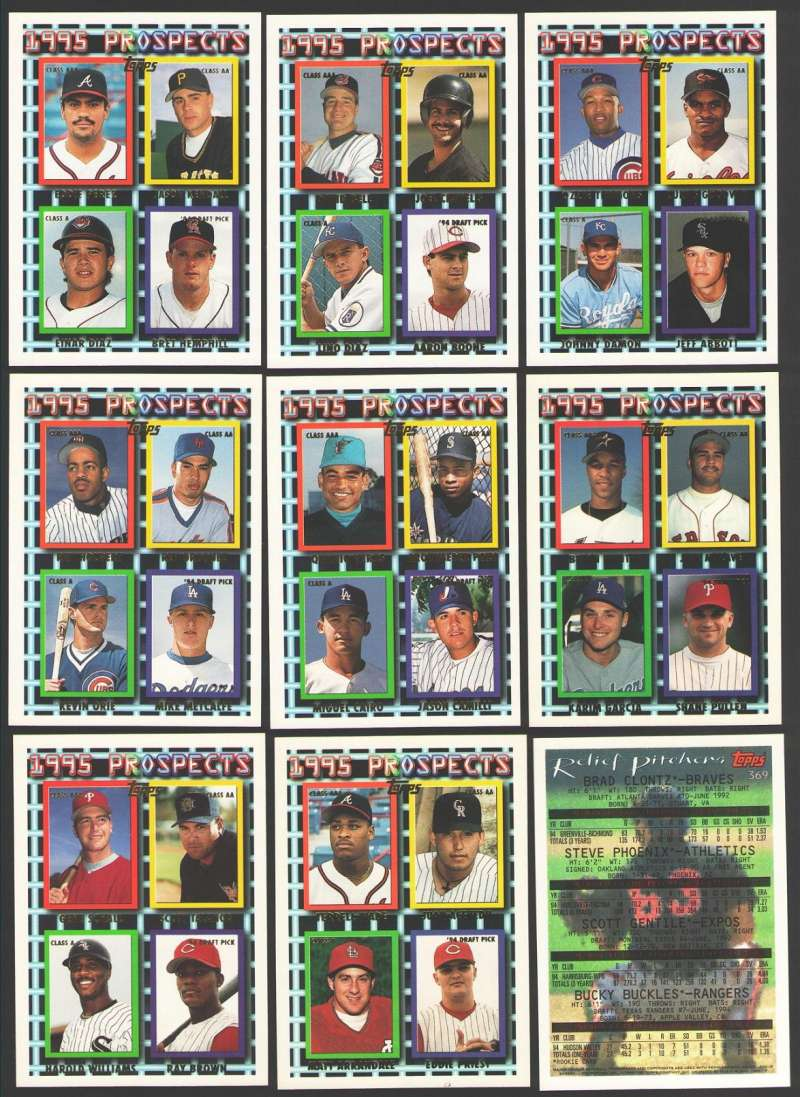 1995 TOPPS - Prospects 10 card subset