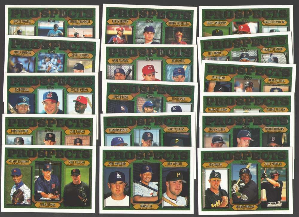 1997 TOPPS - Prospects (16 card subset)