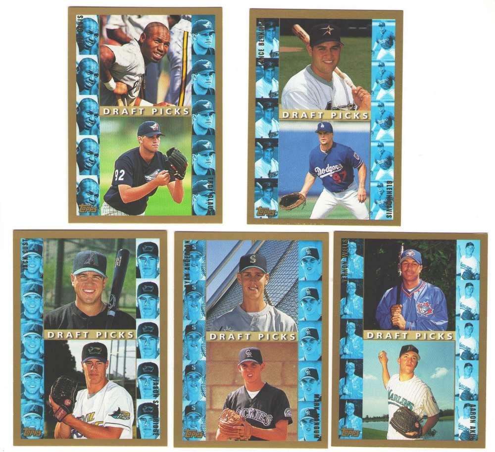 1998 Topps - Rookie Draft Picks 11 card subset lot