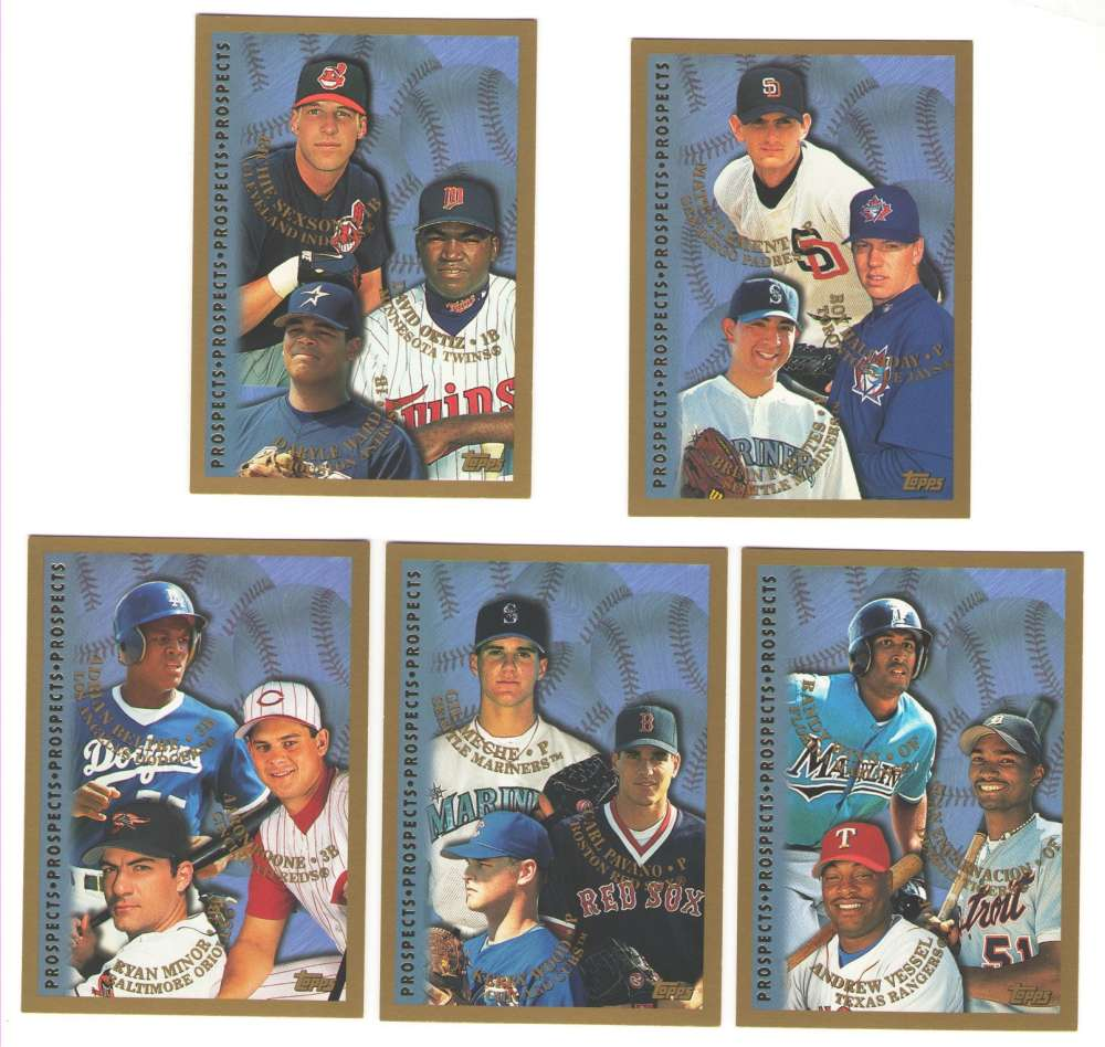1998 Topps - Rookie Prospects (16 card subset)