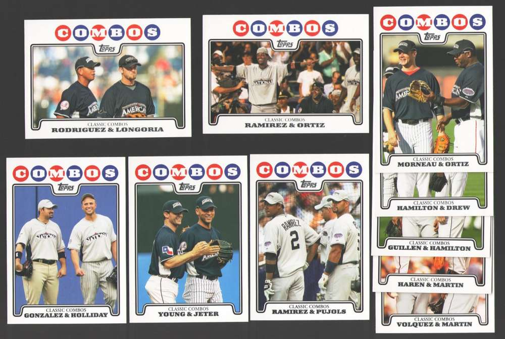 2008 Topps Update - COMBOS 10 Card Subset