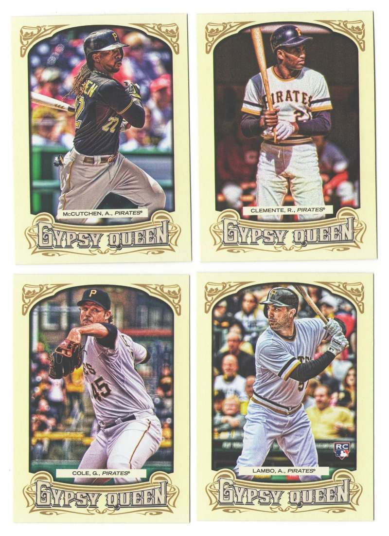2014 Topps Gypsy Queen - PITTSBURGH PIRATES Team Set