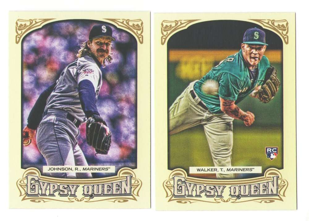 2014 Topps Gypsy Queen (Base) - SEATTLE MARINERS Team Set