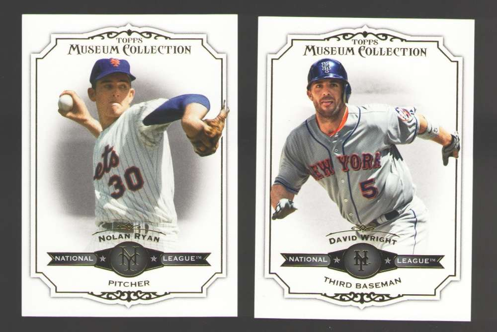 2012 Topps Museum Collection - NEW YORK METS Team Set