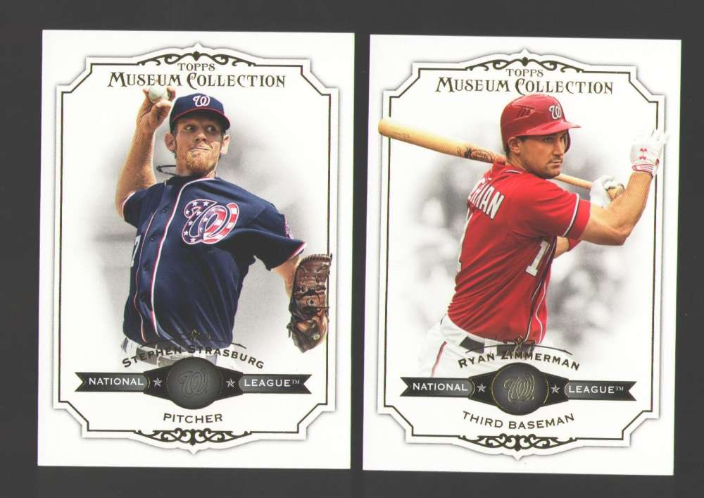 2012 Topps Museum Collection - WASHINGTON NATIONALS Team Set