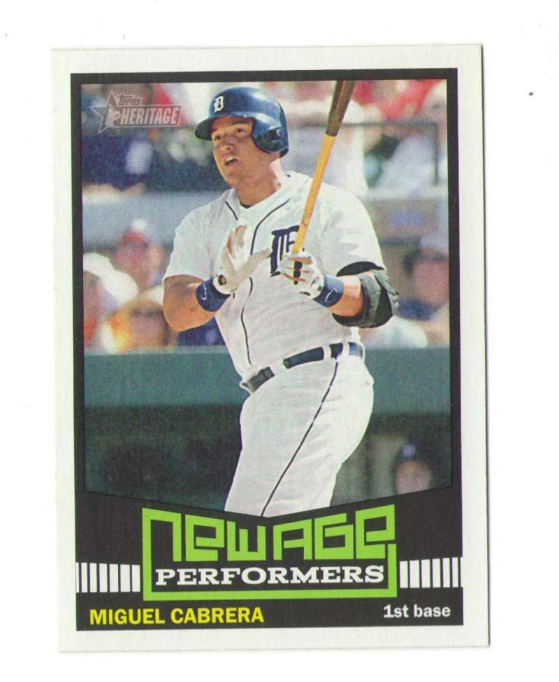 2015 Topps Heritage New Age Performers - TIGERS