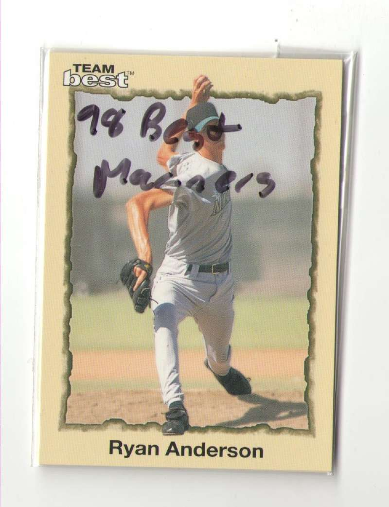 1998 Best Minors SEATTLE MARINERS Team Set