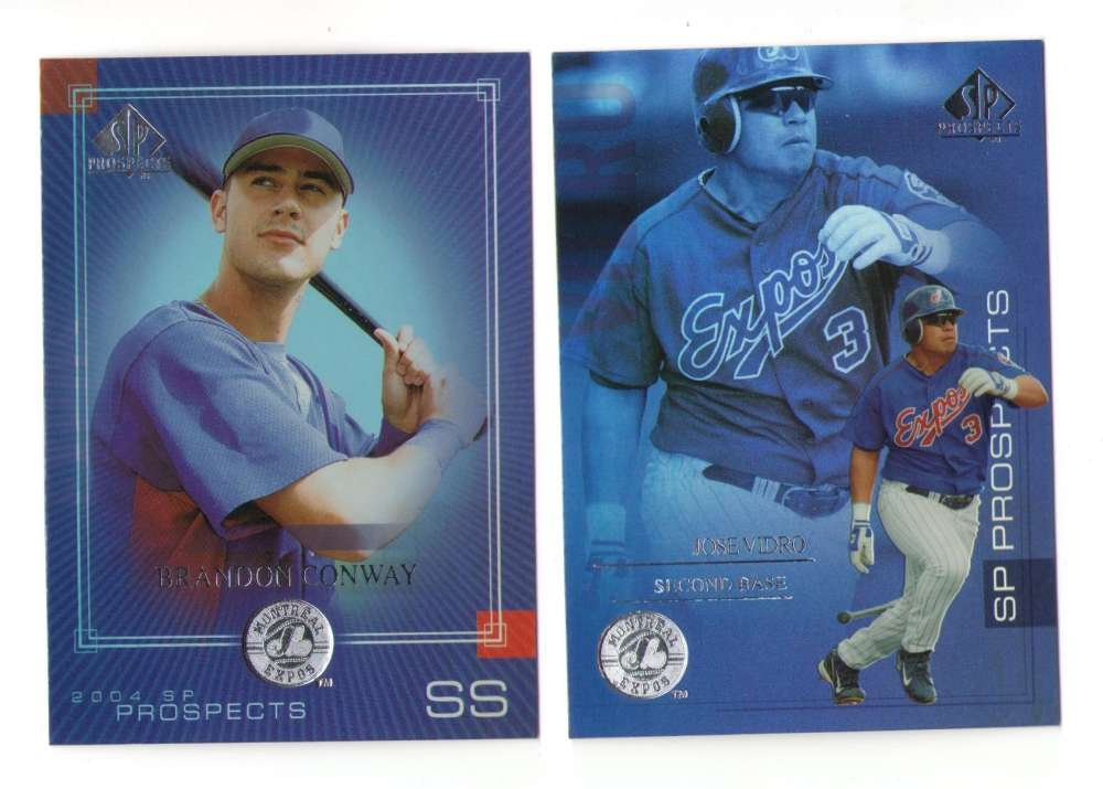 2004 SP PROSPECTS (1-290) - MONTREAL EXPOS Team Set