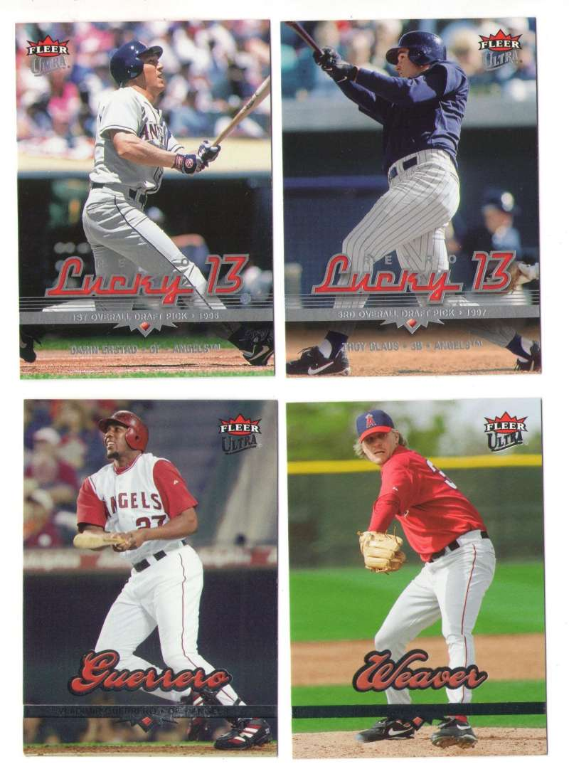 2006 Ultra w/ Lucky 13 SP - LOS ANGELES ANGELS Team Set