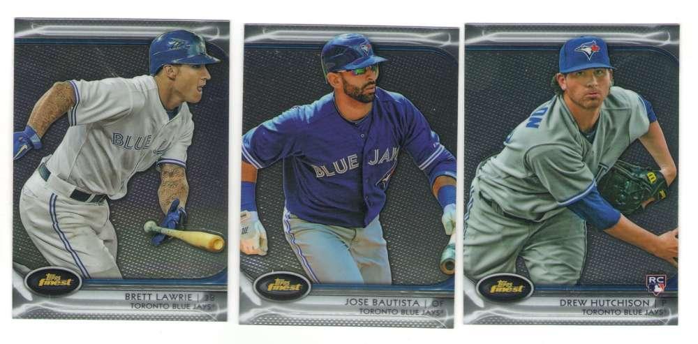 2012 Finest - TORONTO BLUE JAYS Team Set