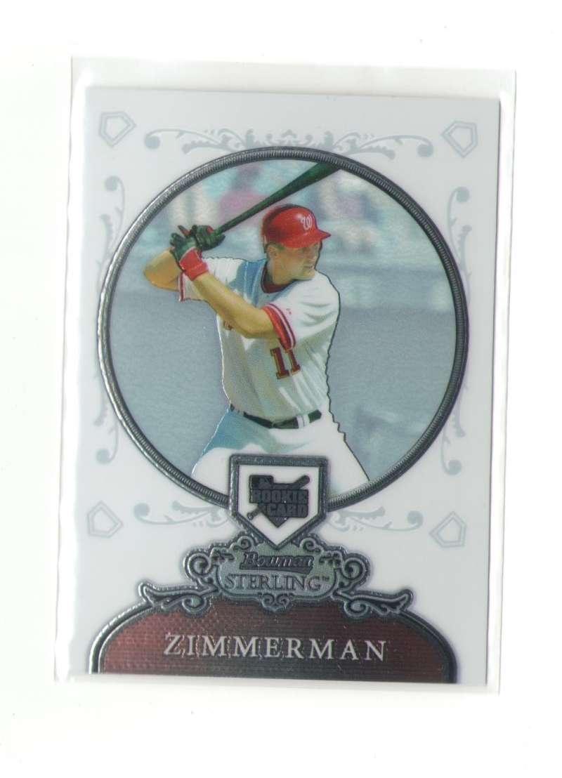 2006 Bowman Sterling - WASHINGTON NATIONALS RZ Ryan Zimmerman (RC)