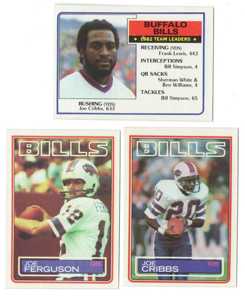 1983 Topps Football Team Set - BUFFALO BILLS