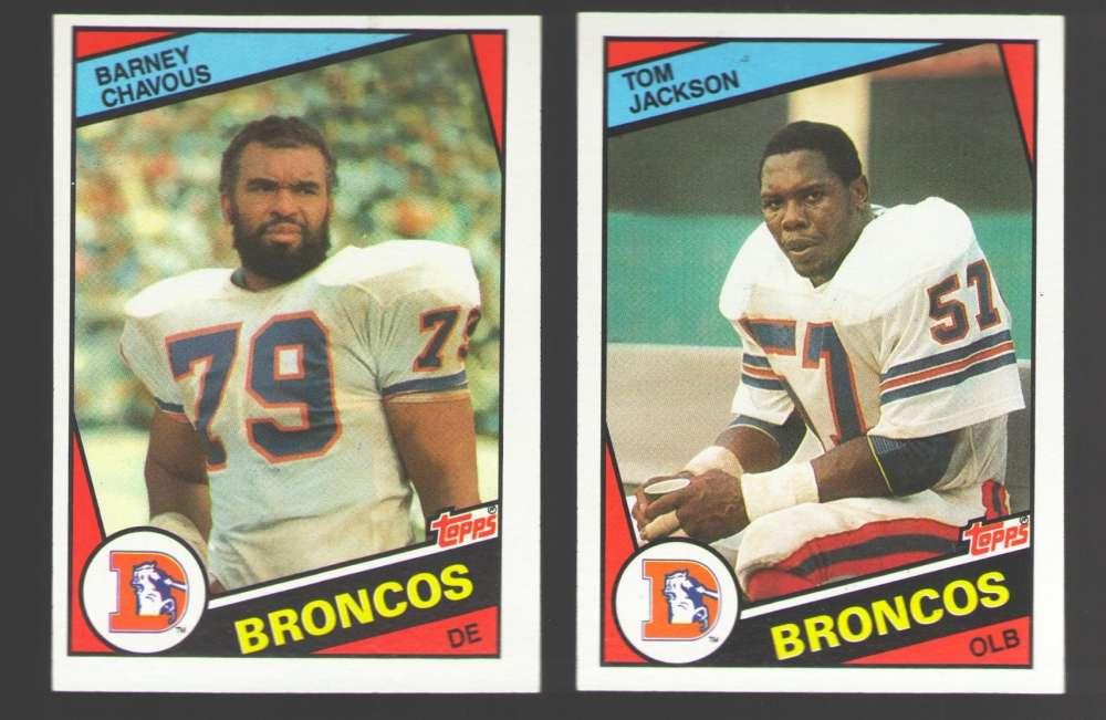 1984 Topps Football Near Team Set - DENVER BRONCOS   Missing Elway