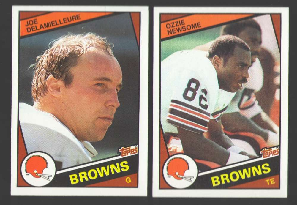 1984 Topps Football Team Set - CLEVELAND BROWNS