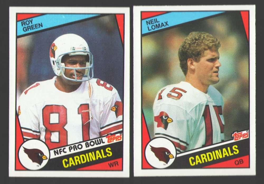 1984 Topps Football Team Set - ST LOUIS CARDINALS