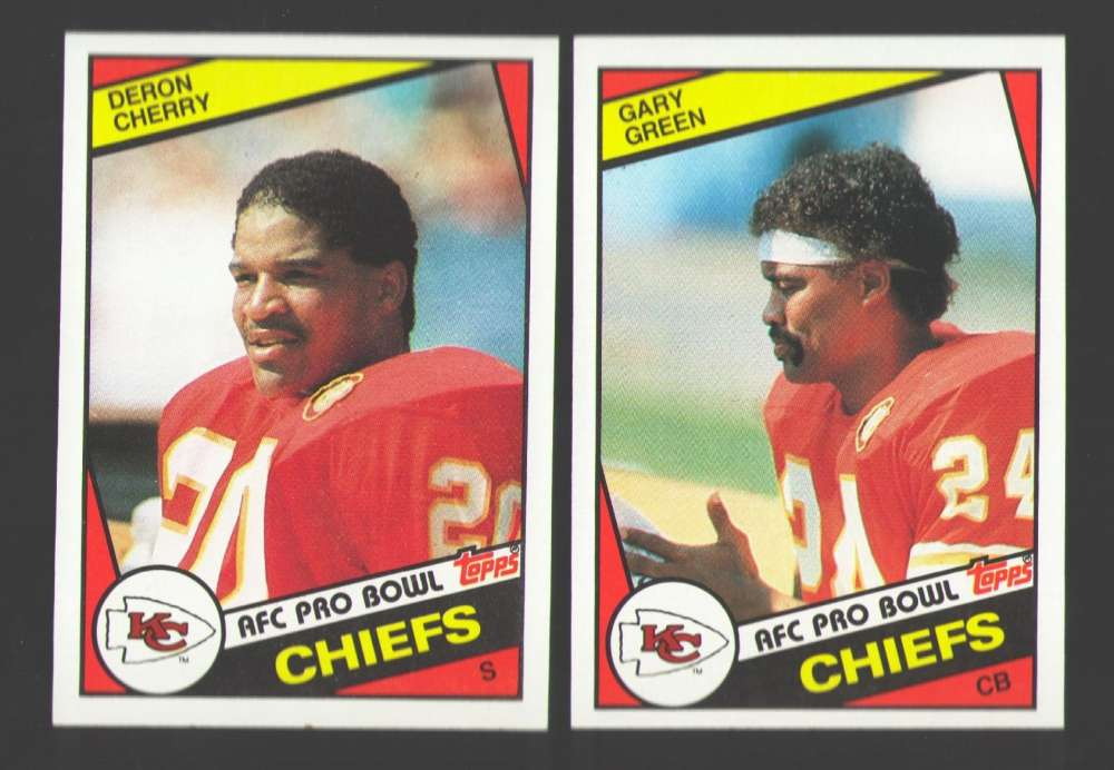 1984 Topps Football Team Set - KANSAS CITY CHIEFS