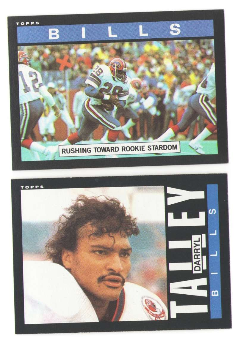 1985 Topps Football Team Set - BUFFALO BILLS
