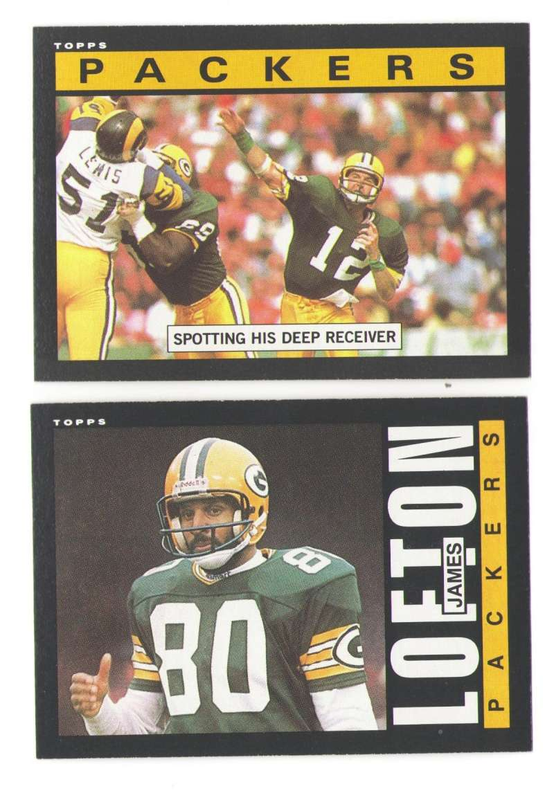 1985 Topps Football Team Set - GREEN BAY PACKERS