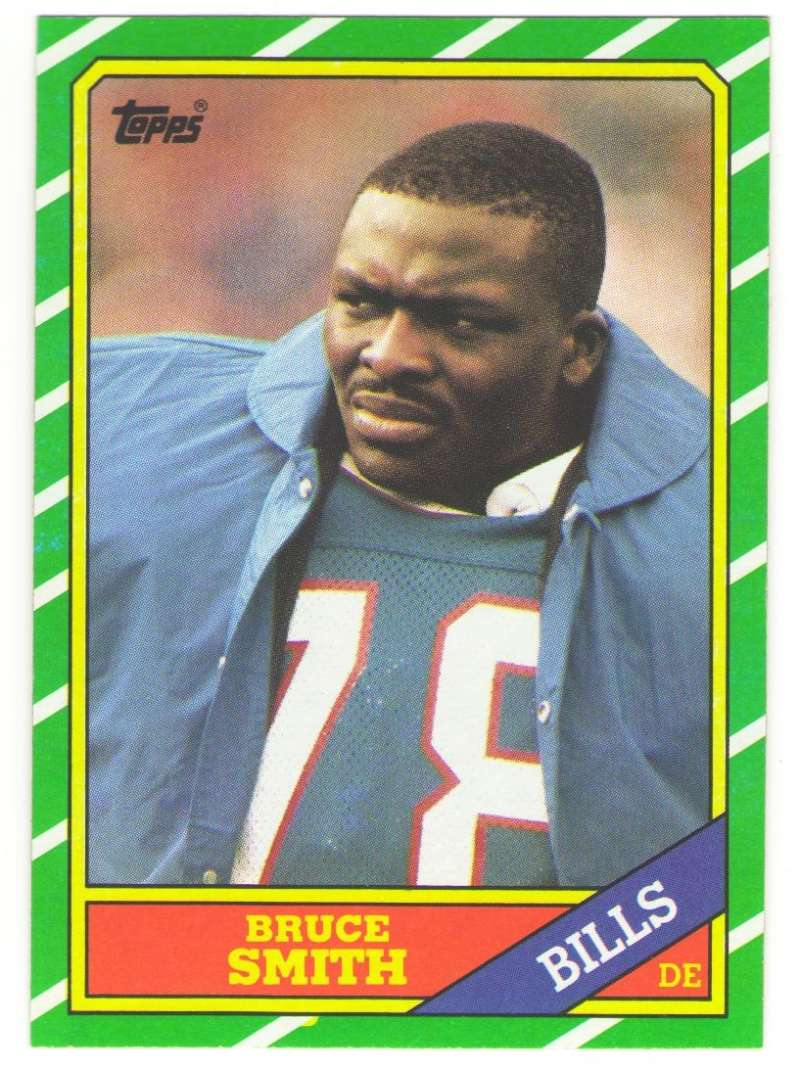 1986 Topps Football Team Set - BUFFALO BILLS w/ Bruce Smith RC & Andres Reed RC