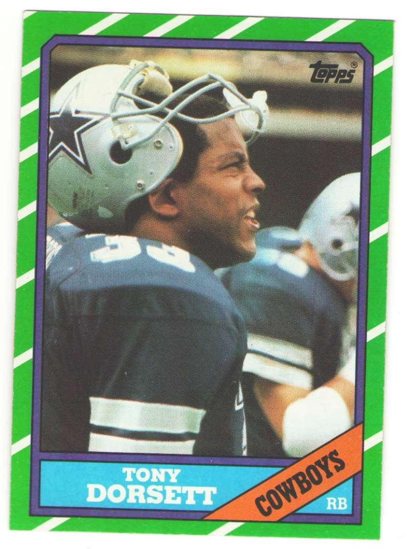 1986 Topps Football Team Set - DALLAS COWBOYS