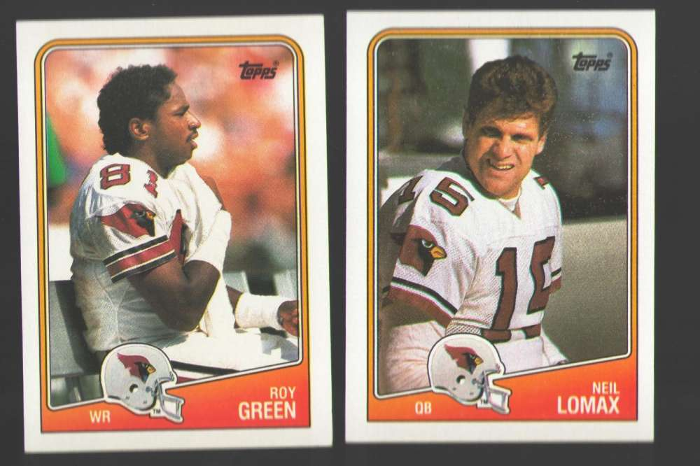 1988 Topps Football Team Set - PHOENIX (Arizona) CARDINALS