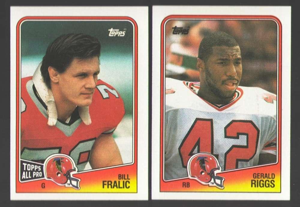 1988 Topps Football Team Set - ATLANTA FALCONS