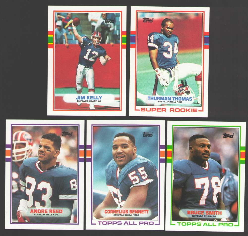 1989 Topps Football Team Set - BUFFALO BILLS