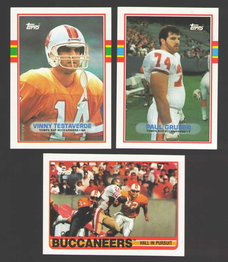 1989 Topps Football Team Set - TAMPA BAY BUCCANEERS