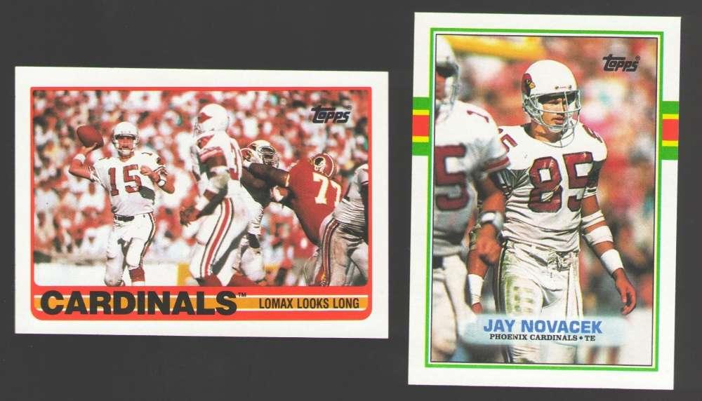 1989 Topps Football Team Set - PHOENIX / ARIZONA CARDINALS