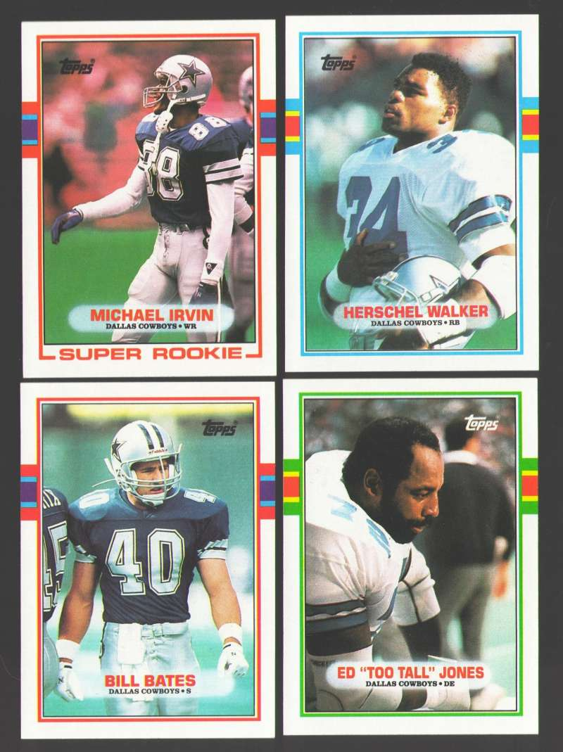 1989 Topps Football Team Set - DALLAS COWBOYS