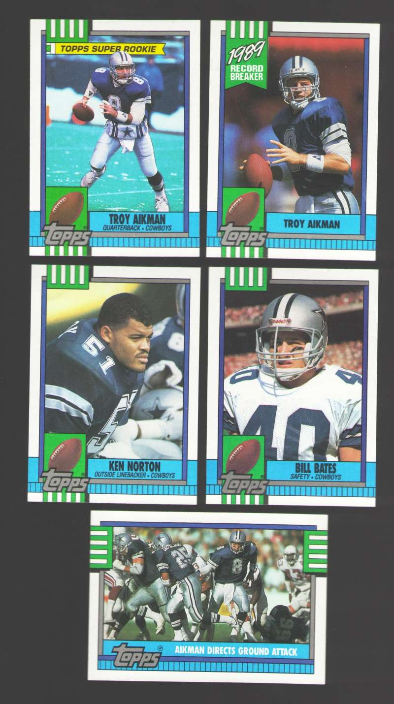 1990 Topps Football Team Set - DALLAS COWBOYS