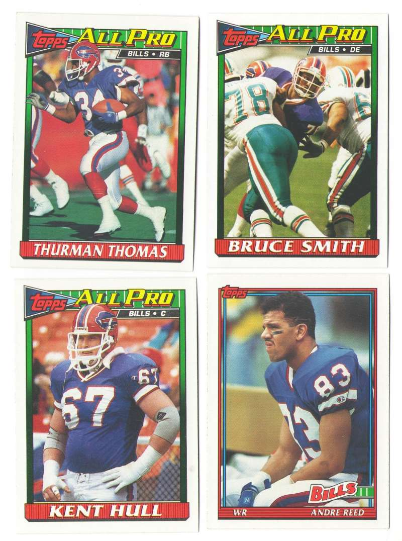1991 Topps Football Team Set - BUFFALO BILLS