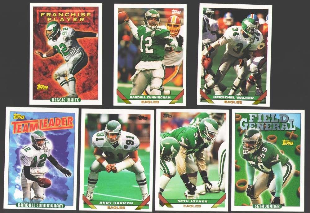 1993 Topps Football Team Set - PHILADELPHIA EAGLES