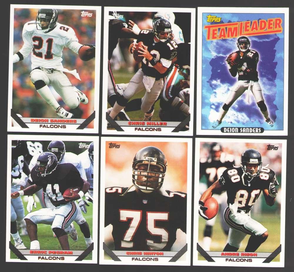 1993 Topps Football Team Set - ATLANTA FALCONS