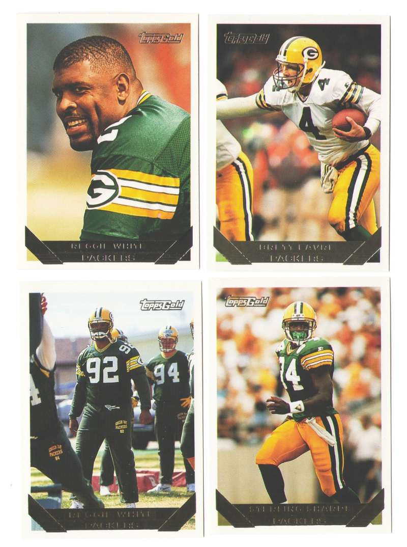 1993 TOPPS GOLD Football Team Set - GREEN BAY PACKERS
