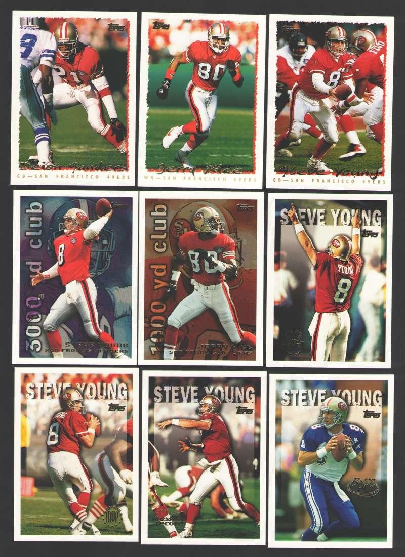 1995 Topps Football Team Set - SAN FRANCISCO 49ERS