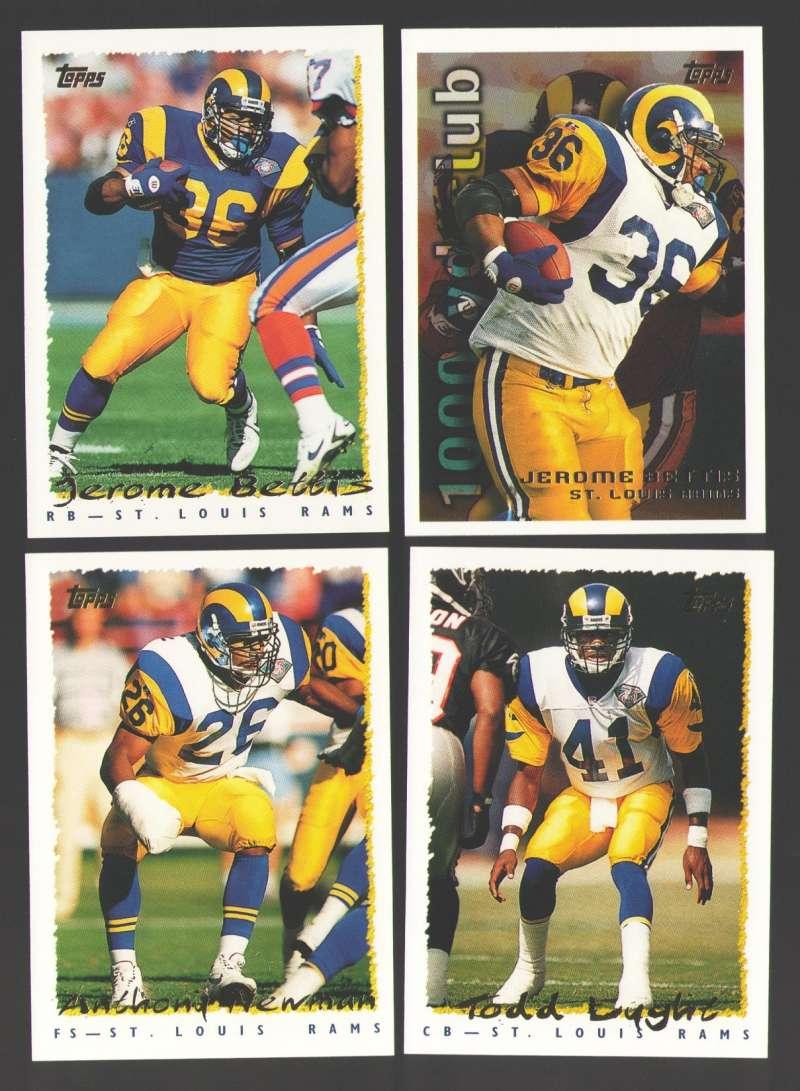 1995 Topps Football Team Set - ST. LOUIS RAMS