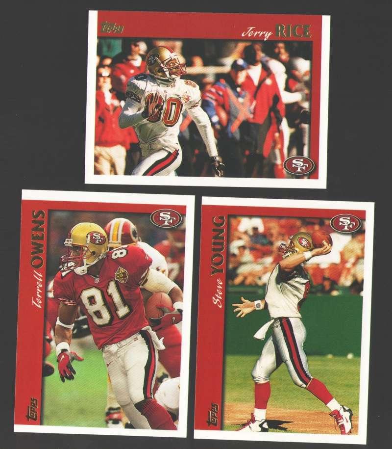 1997 Topps Football Team Set - SAN FRANCISCO 49ERS