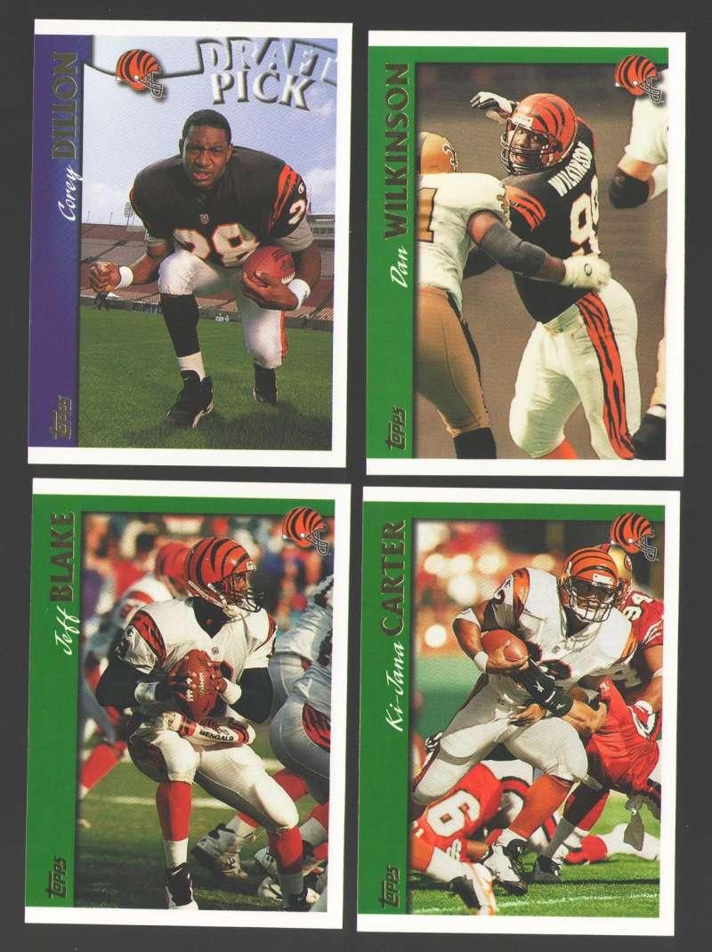 1997 Topps Football Team Set - CINCINNATI BENGALS