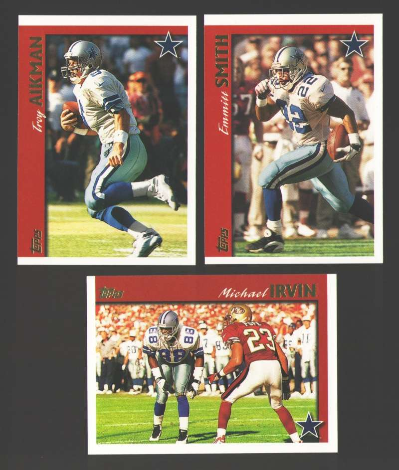 1997 Topps Football Team Set - DALLAS COWBOYS