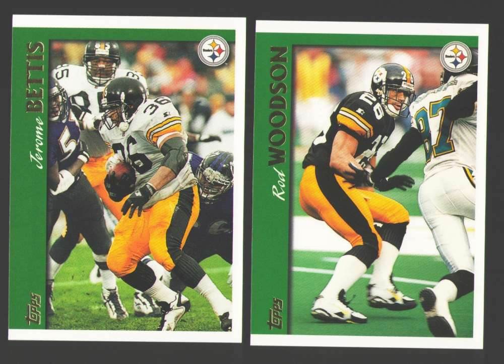 1997 Topps Football Team Set - PITTSBURGH STEELERS