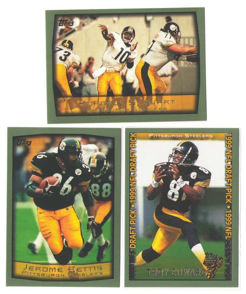 1999 Topps Football Team Set - PITTSBURGH STEELERS
