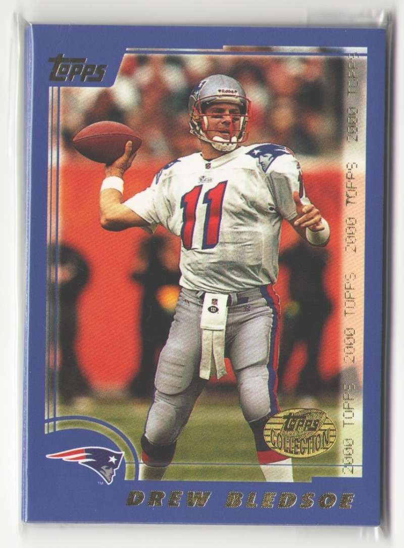2000 Topps Collection Football Team Set - NEW ENGLAND PATRIOTS