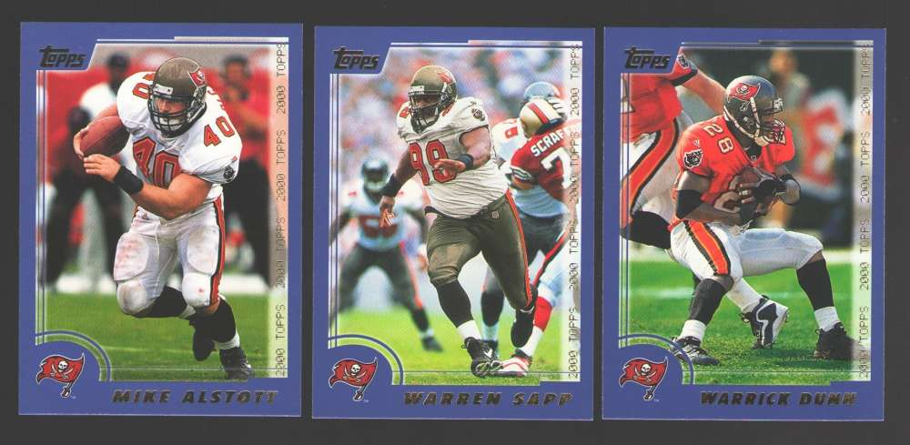 2000 Topps Football Team Set - TAMPA BAY BUCCANEERS